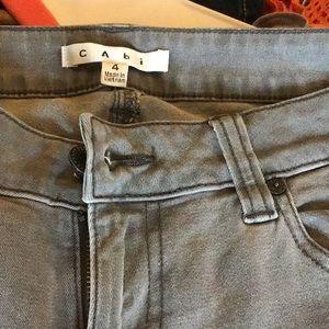 CAbi gray jean